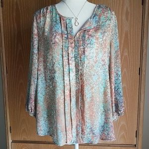 Willi Smith blouse, EUC fits like a size L